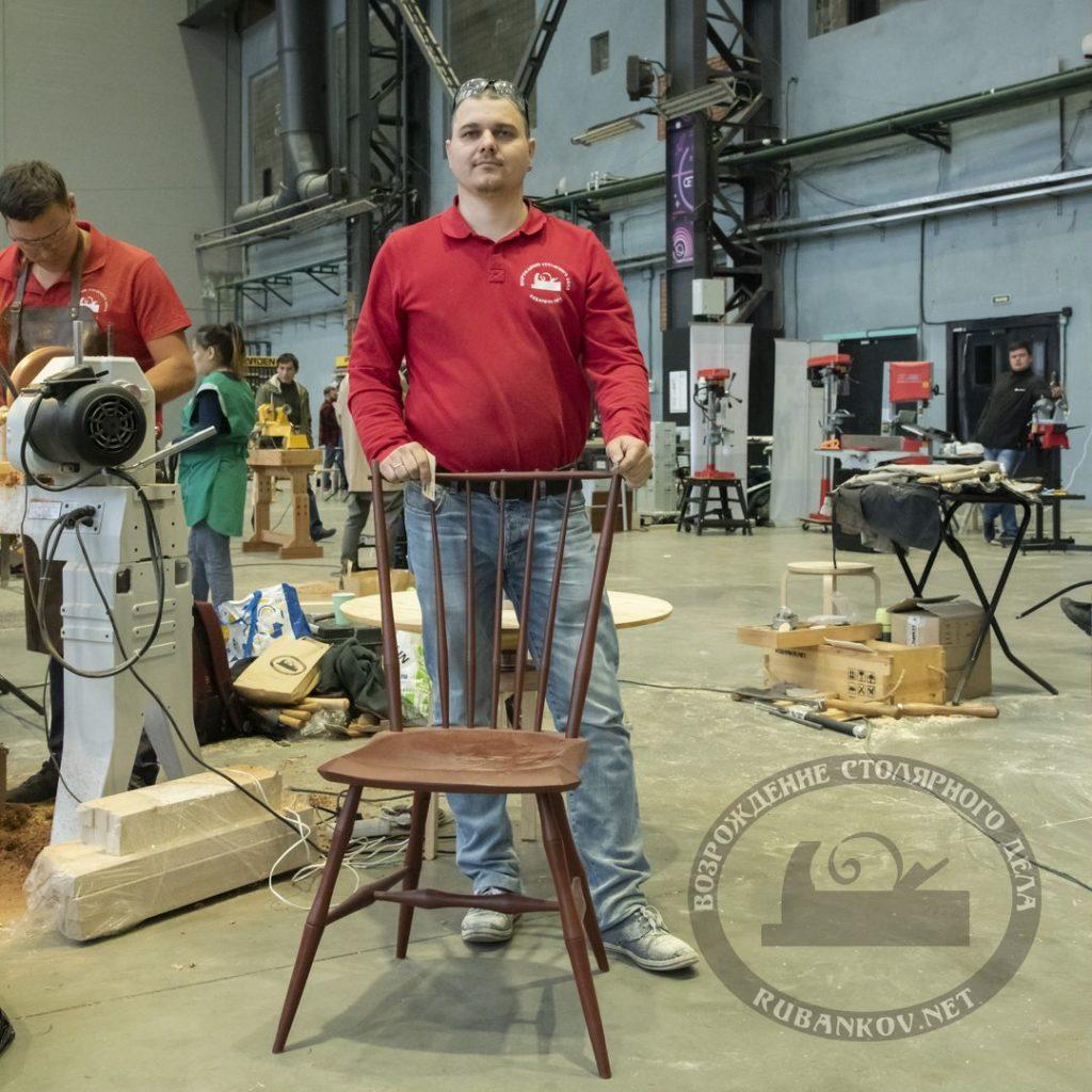 Дмитрий Пушин и стул виндзора, ФСД19 в СПб