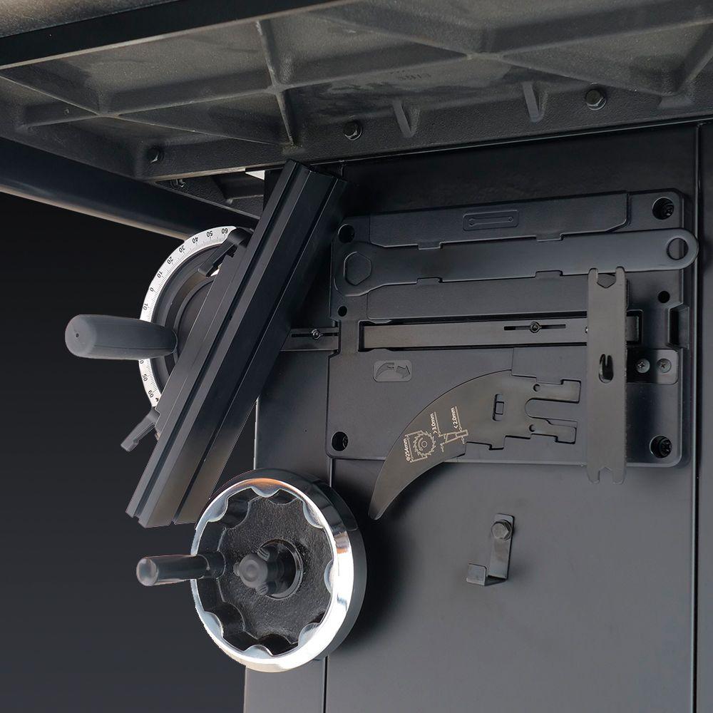 Механизм подъема и наклона диска на кабинетной пиле Laguna F3