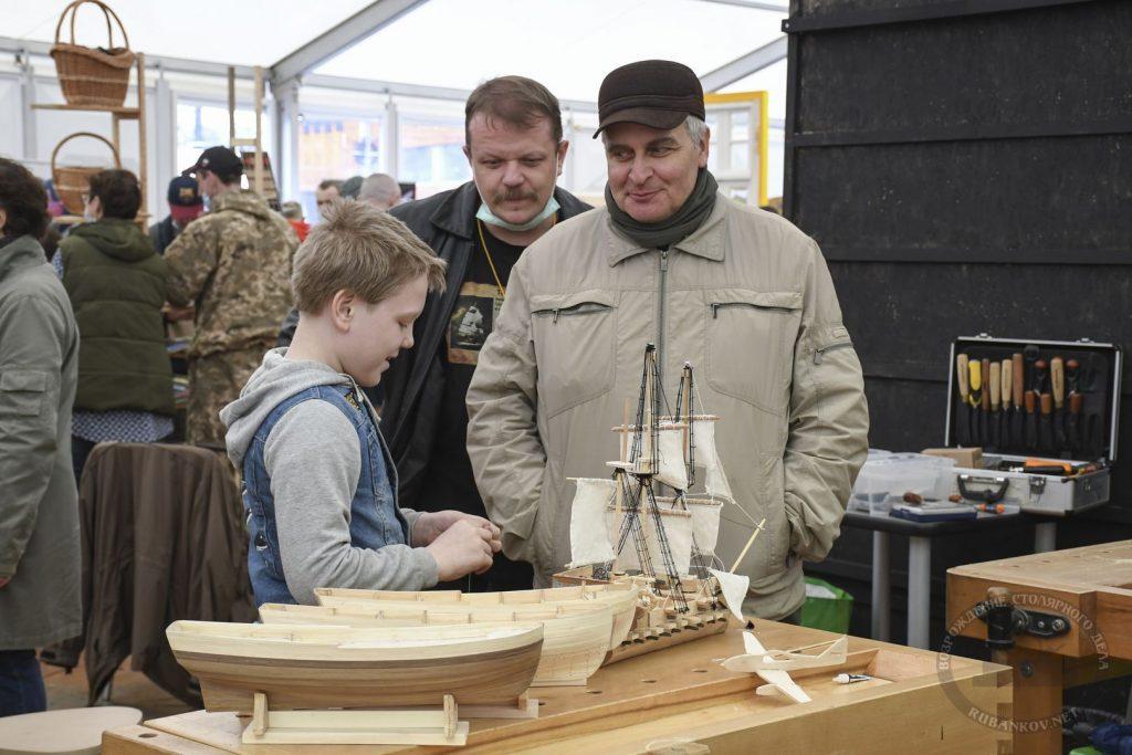 Судомоделисты на ФСД21, Москва