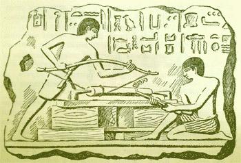 Лучковый токарный станок Египт