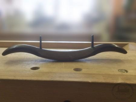 Стружок деревянный выгнутый