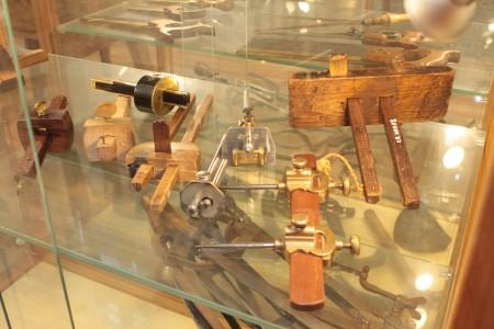 Рейсмусы разметочные, старинные и новодел по старым образцам, подарки музею от друзей.