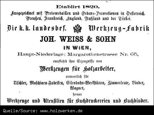 Компания Joh. Weiss & Sohn