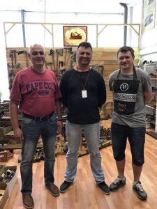 слева на право: Олег, Сергей, Фёдор