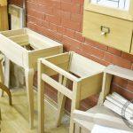 Туалетный столик в подетальном разборе