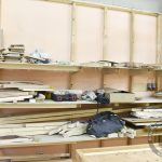 Стеллаж для хранения материалов и инструментов