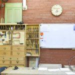 Столярный инструментальный шкаф мастера