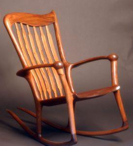 Столярный курс - Кресло качалка (пример)