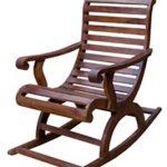 Современное кресло качалка