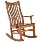 Кресло качалка прямое
