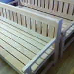 Деревянная скамья своими руками