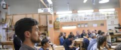 День открытых дверей в Столярной Школе Rubankov