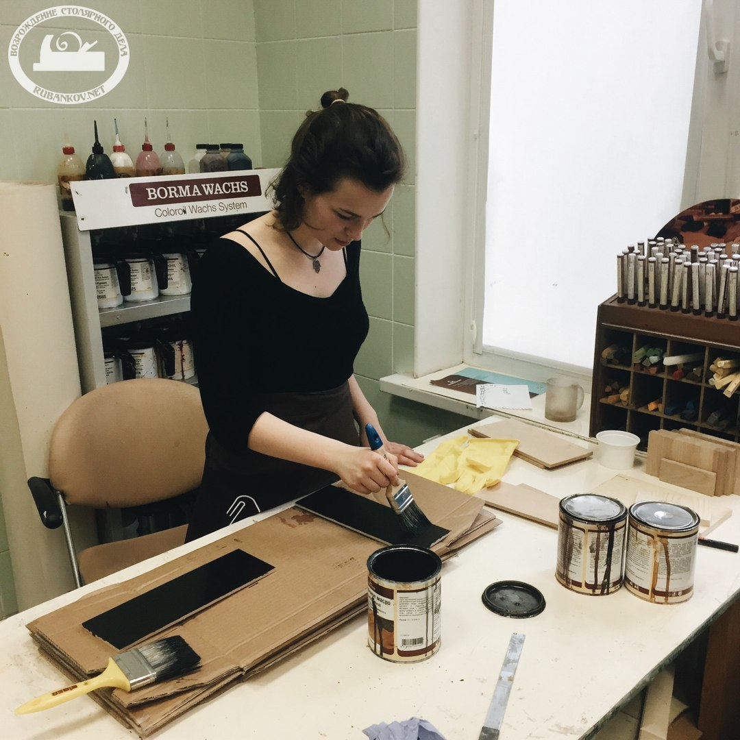 Арина - лектор мастер-класса