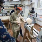 Мастер-класс по токарному делу в московской мастерской