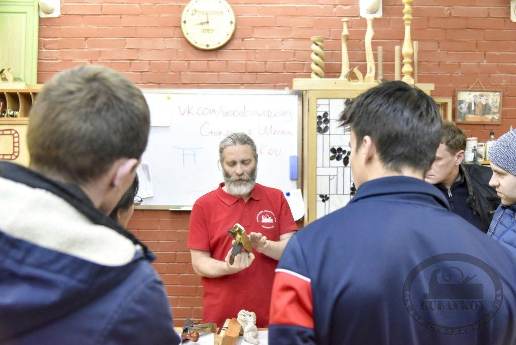 День Открытых Дверей 24-10-2017 Столярная Школа СПб