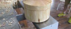 Точёная шкатулка из боярышника