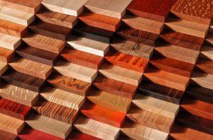 Экзотические, цветные породы дерева