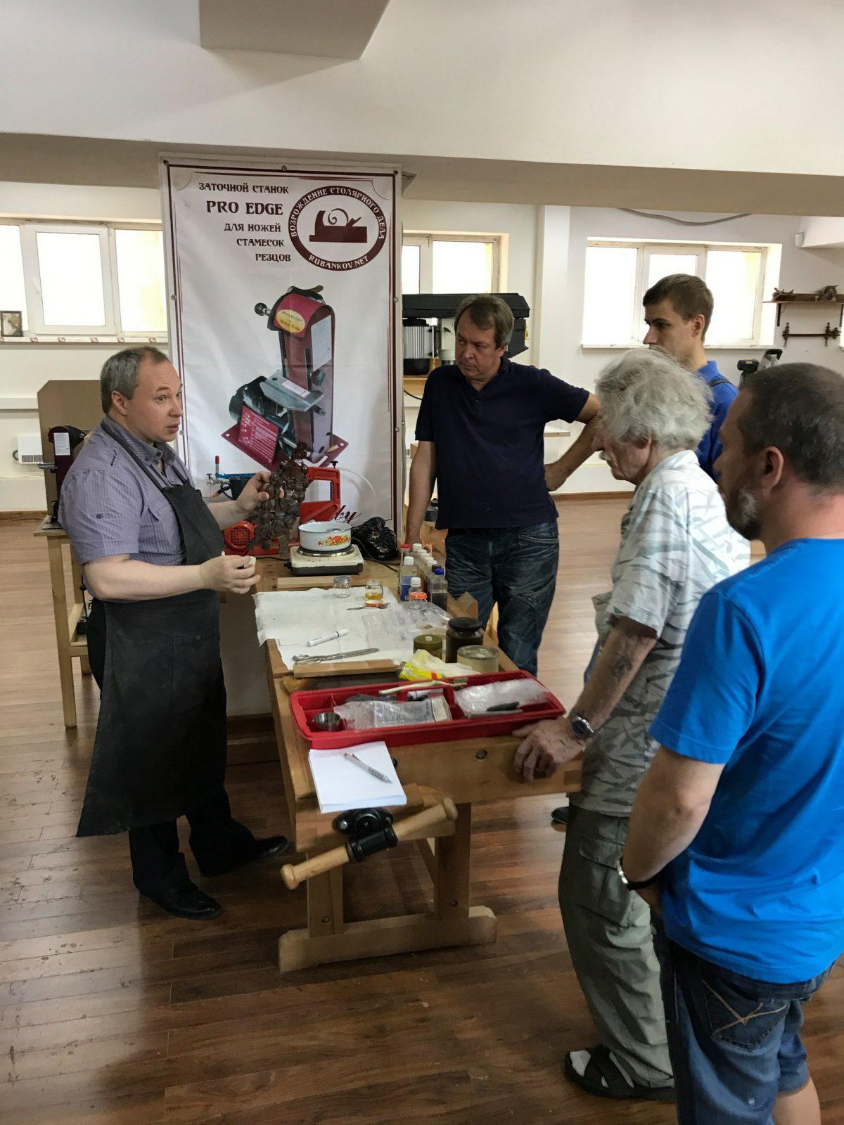 Фёдор Жильцов и слушатели МК