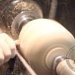 Задаем начальную форму тыквы полукруглым резцом