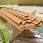 готовые заготовки, рейки для обшивки корабля