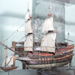 Пример готовой модели корабля - курс судомоделизма