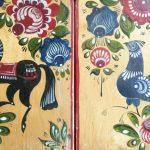 Доски с художественной росписью