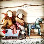 Деревянные игрушки с росписью по дереву