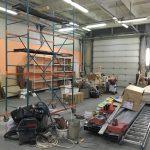 Подготовка к расширению мастерской - столярной школы