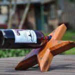 Держатель бутылок деревянный (пример)