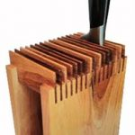 Деревянный держатель ножей (пример)