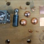 Работа с металлом и пунсоном