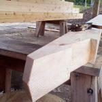 Готовая балка в стиле Timber-frame