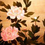 Мозаика цветов из дерева