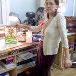 Витраж ученицы Елены Васильевны