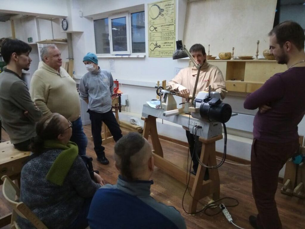 мастер-класс токарного мастерства