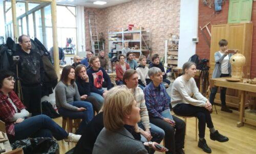 Слушатели столярной школы rubankov