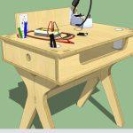 Проект стола в SketchUp