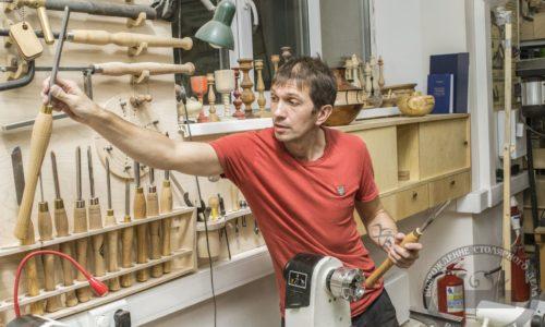 Андрей Громов и токарные инструменты