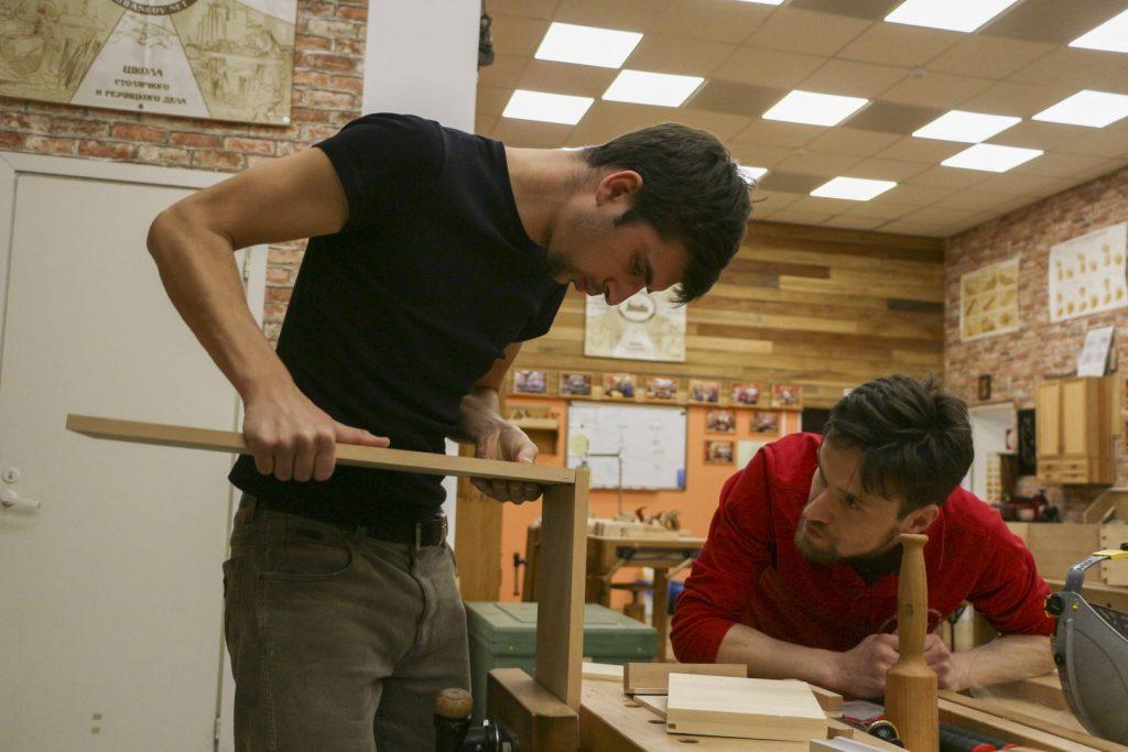 Один урок со столярного курса, группа Сергея Клейна