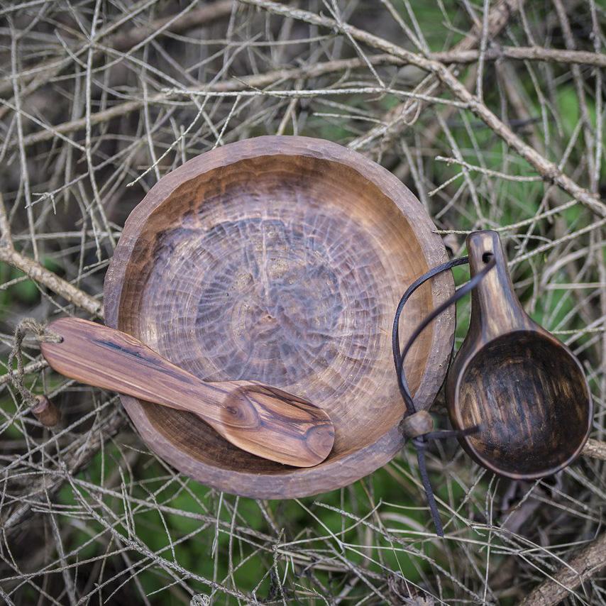 Набор деревянной посуды (Павел Зимодро)