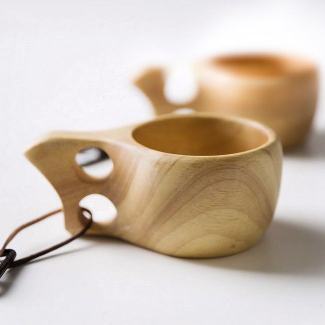 Деревянная кружка - кукса