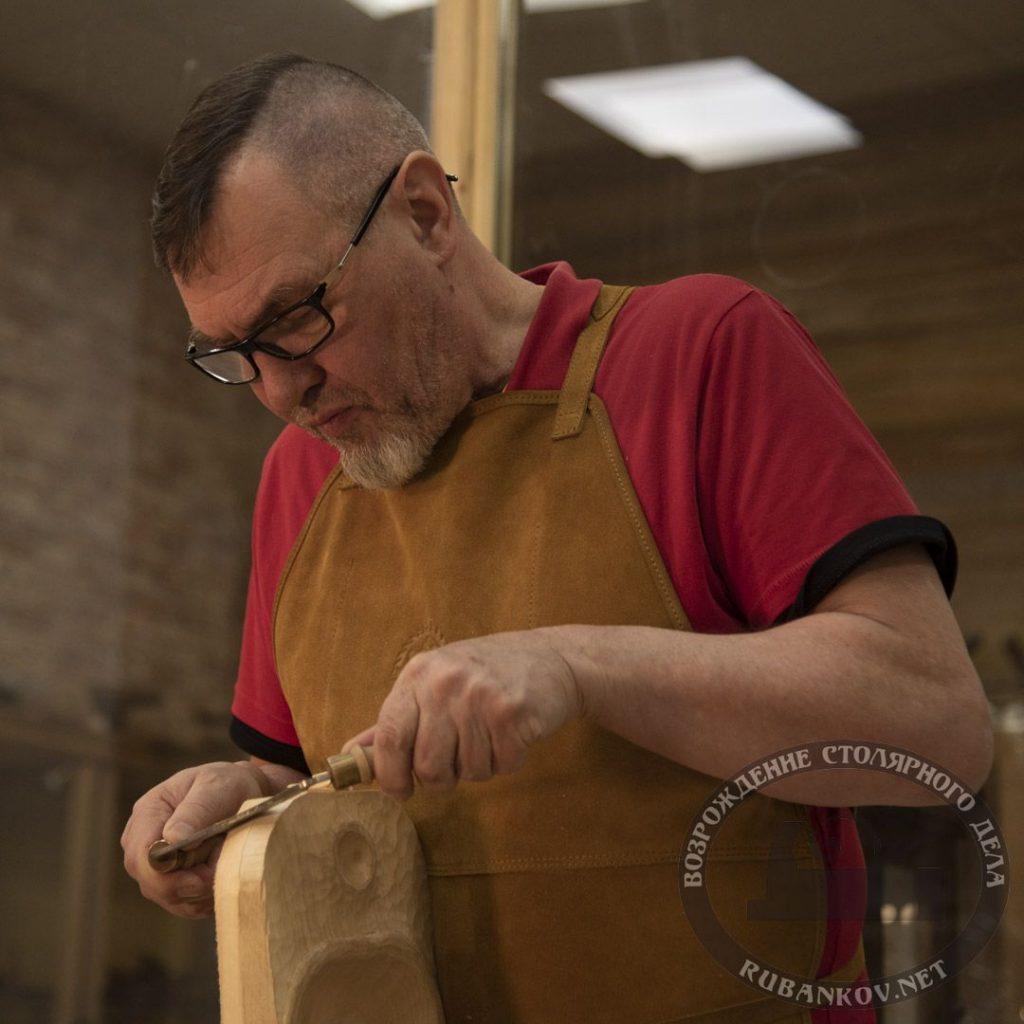 Иван Бочков, резьба кухонной посуды