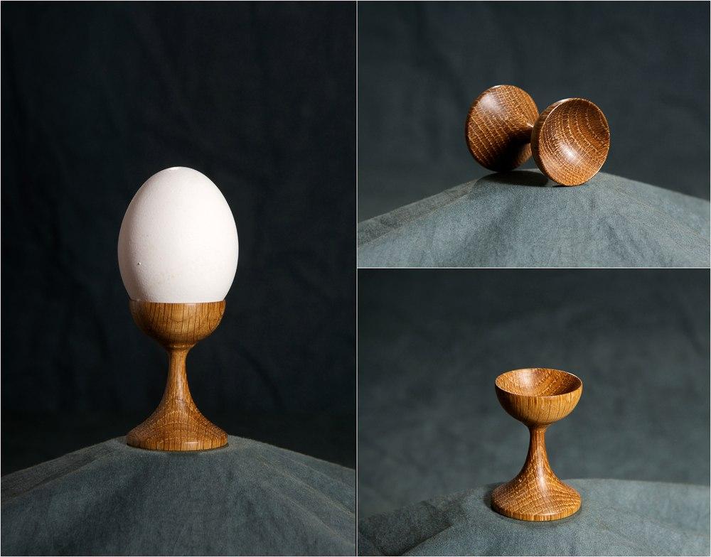Пашотница (подставка для поедания яиц всмятку) работа Юрий Бажан