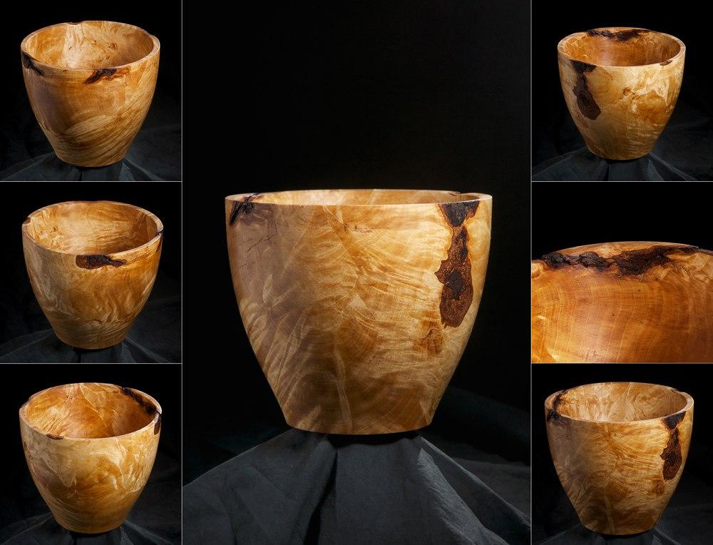 Деревянная чаша. Юрий Бажан