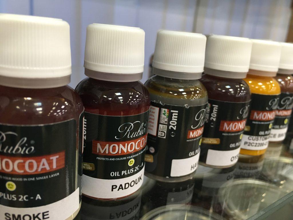 пробники масла Rubio Monocoat