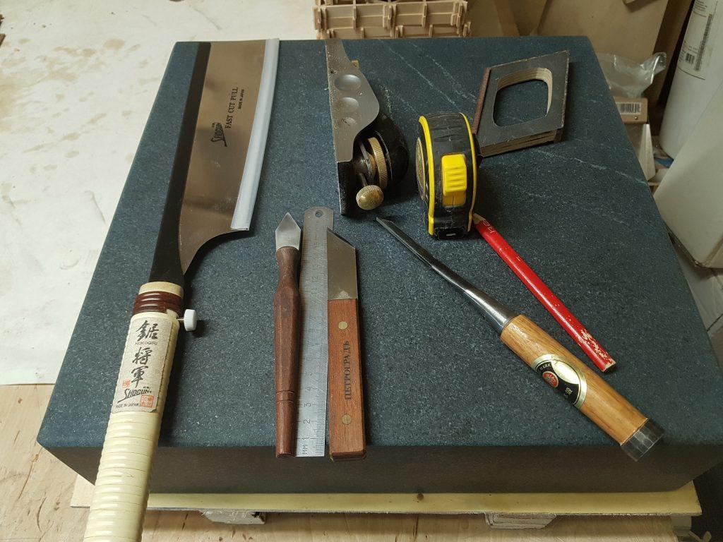 Инструменты для изготовления элемента решетки кумико