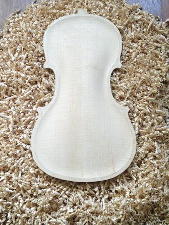 нижння дэка скрипки
