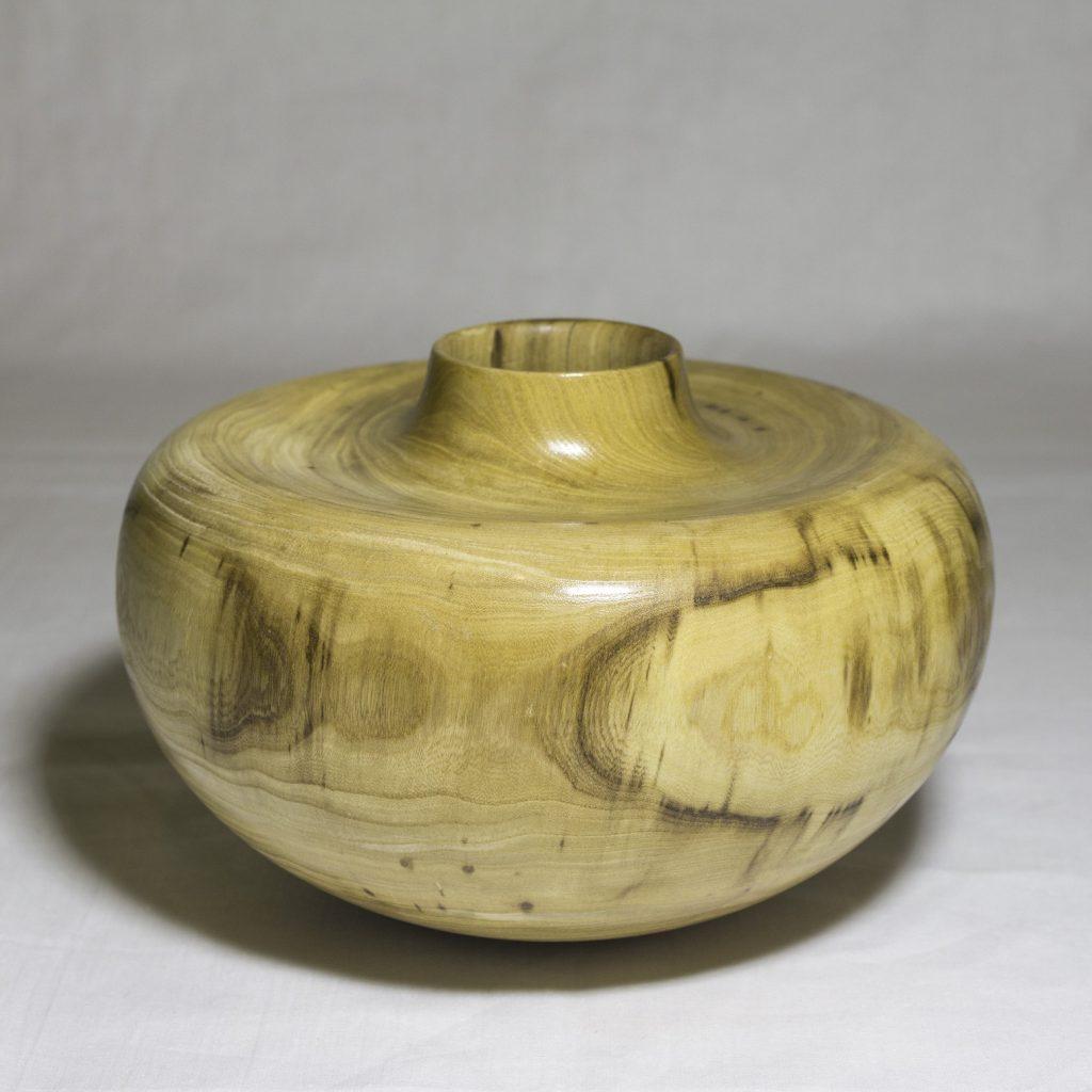 Точеная ваза из дерева (Вяз)