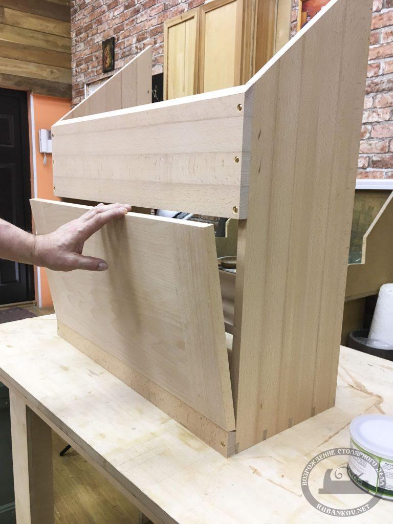 инструментальный ящик передняя дверца