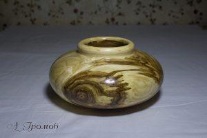Деревянная ваза (А.Громов)